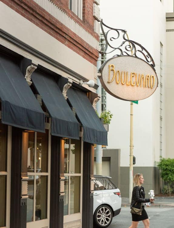 boulevard restaurant in san fracisco